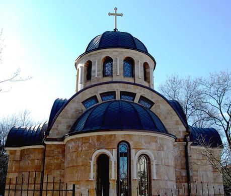 Меден покрив църква