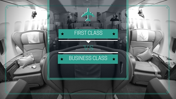 First Class Vs Business Class What S The Difference