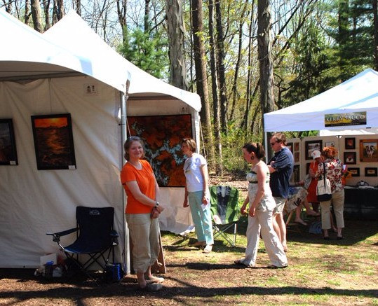 My first festival, the Chester County Studio Tour 2009