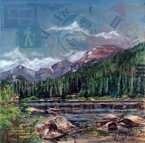 """Bear Lake"" 5 x 5"