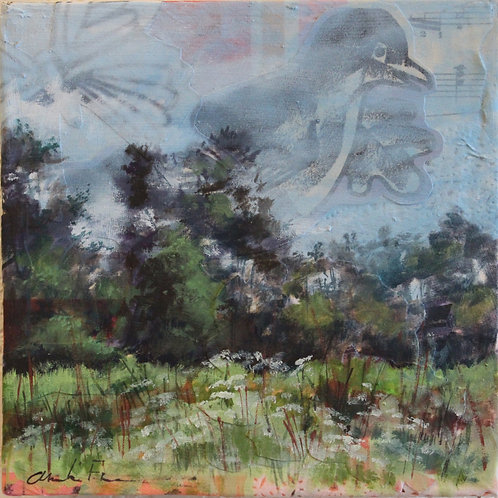 """Return of the Robin"" 6 x 6"