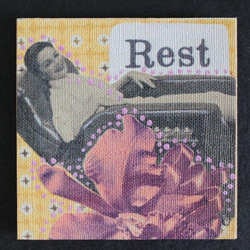 """""""Rest"""" Art Magnet, 3 x 3"""