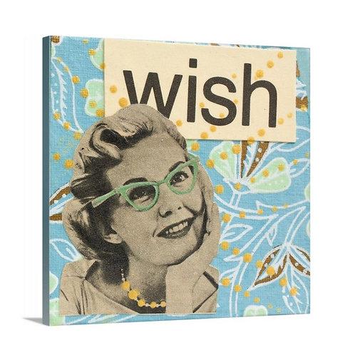 """Wish"" Canvas Print, 12 x 12"