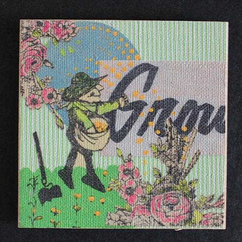 """""""Grow"""" Art Magnet, 3 x 3"""