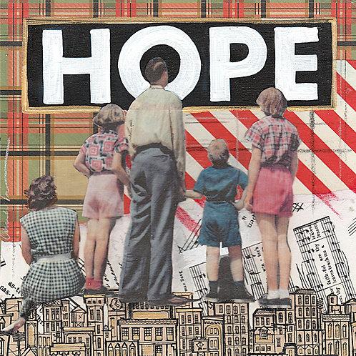 """""""Hope"""" 12 x 12"""
