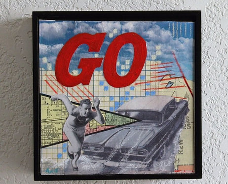"""""""Go"""" 6 x 6"""