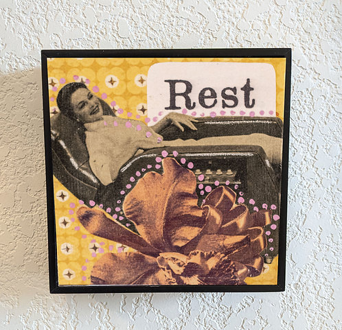 """Rest"" 4 x4"