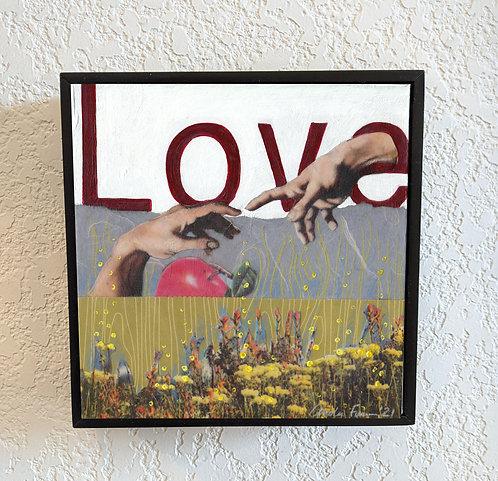 """""""Love"""" 6 x 6"""