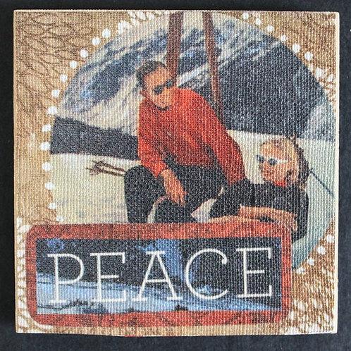 """Peace"" Art Magnet, 3 x 3"