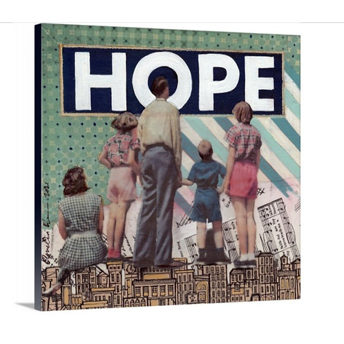 """Hope"" Canvas Print, 12 x 12"