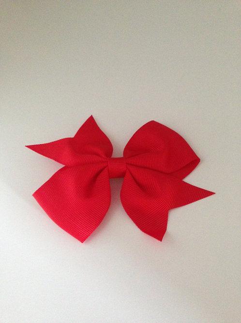 Haarstrik rood 8 cm