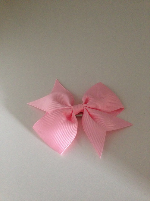 Haarstrik roze 8 cm