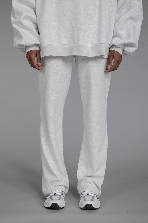 COMFEE. straight leg joggers - light grey