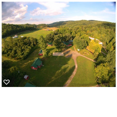 Arial View of the Retreat