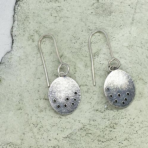 Drop earring in silver XER10