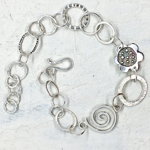 Silver bracelet - No3