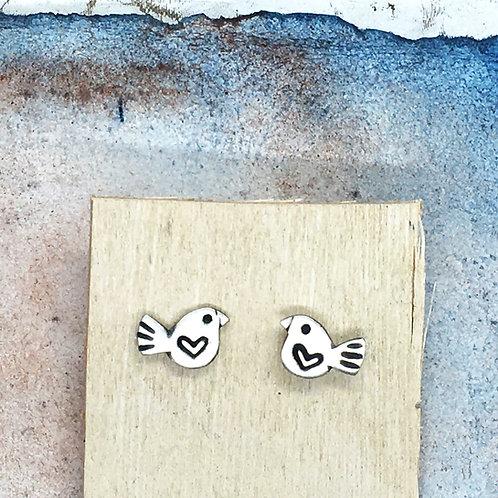 Lovebird studs
