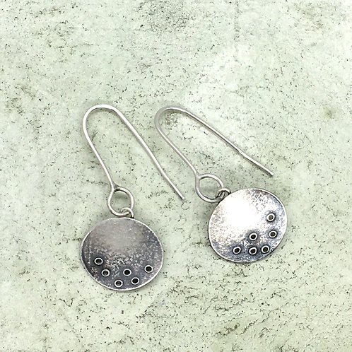Drop earring in silver XER11