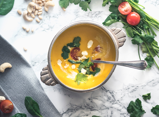 Sopa, boa para comer a qualquer hora do dia.