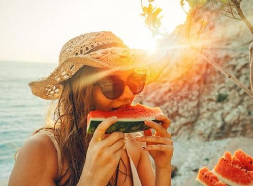 Mudanças na alimentação para o verão