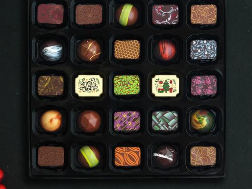 Composição nutricional dos chocolates mais consumidos no Natal