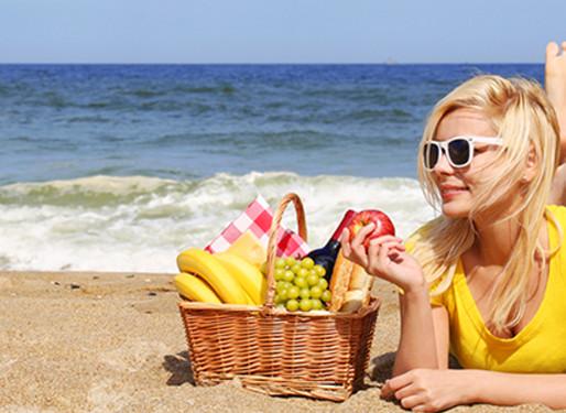 Recomendações alimentares em dias quentes