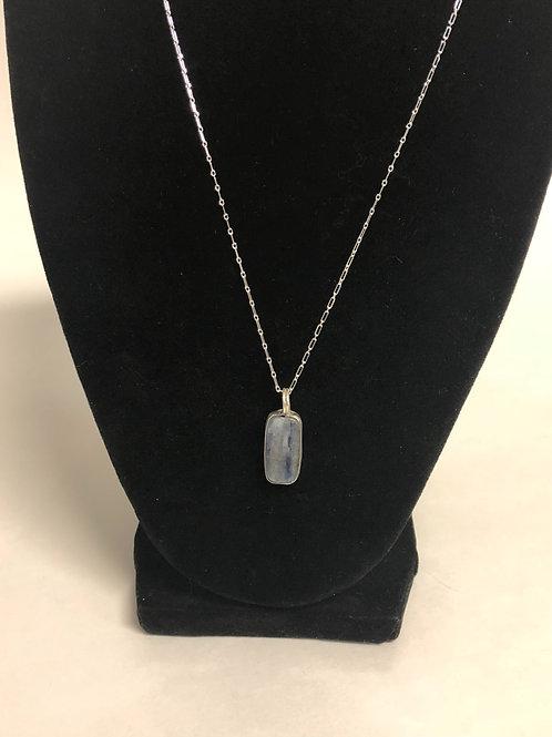 Kyanite in sterling silver Bezel setting