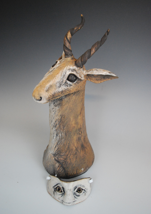 Antelope with Mask