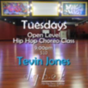 Tuesday Night Open Level Choreo Class Te