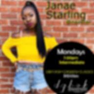 Janae Starling Mondays - 7pm 11-18-19.jp