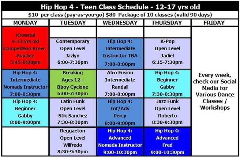 Teens Class Schedule 9-1-20.jpg