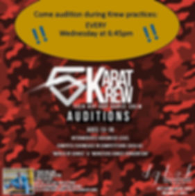 5 Karat ongoing auditions.jpg