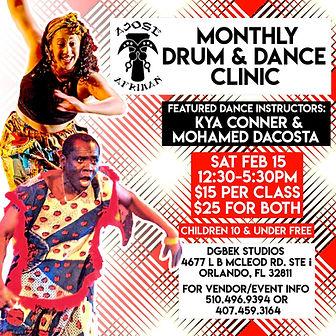 2-15-20 Ajose Afrikan drum 7 dance clini