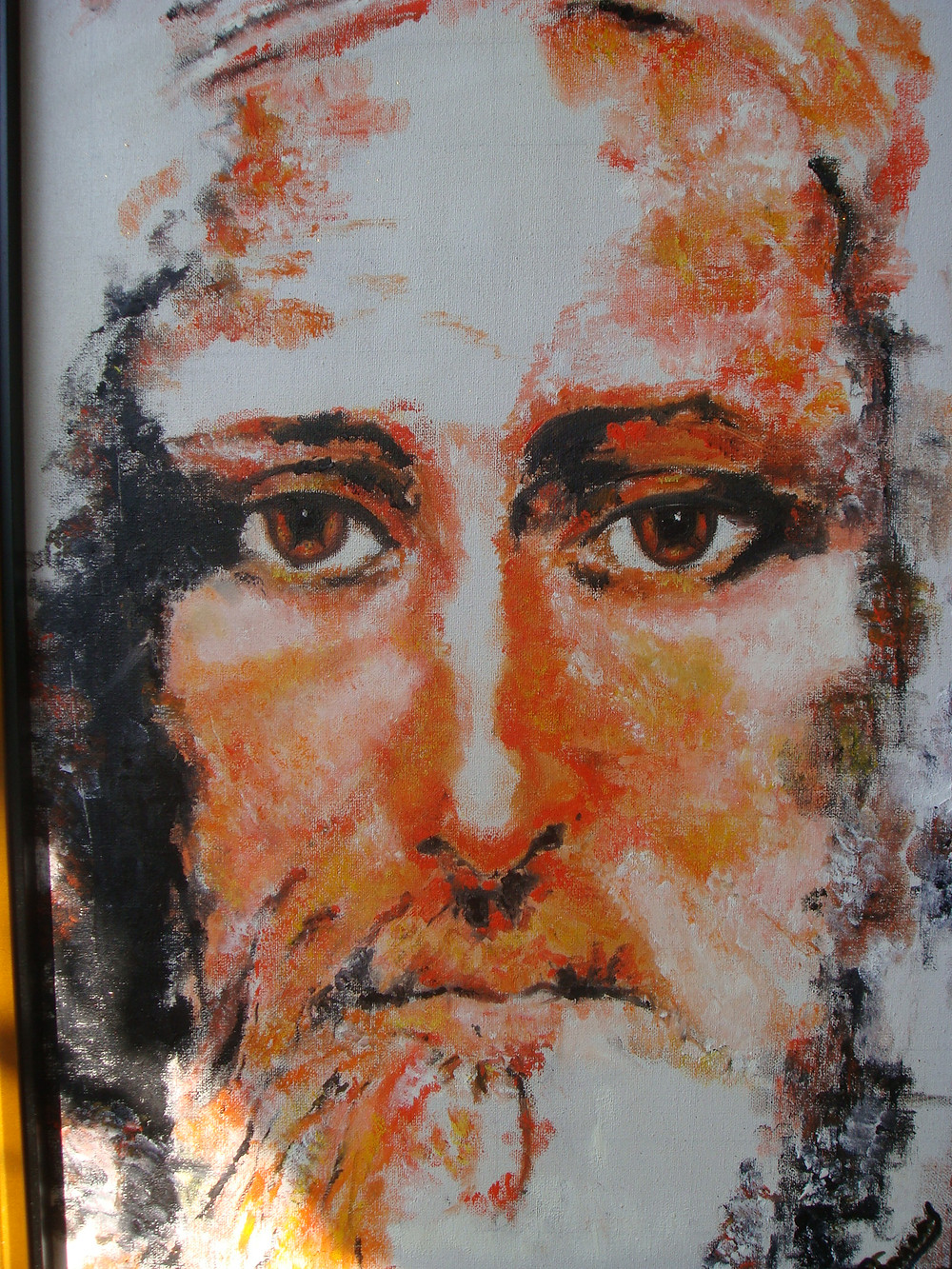 The Face of Christ. Gibraltar Catholic Youth.