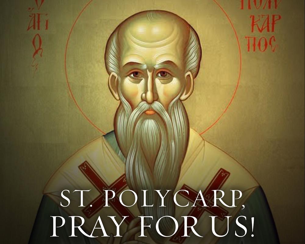 st polycarp. Gibraltar Catholic Youth. Word on Fire.