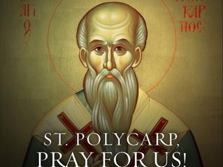 23rd February: Saint Polycarp