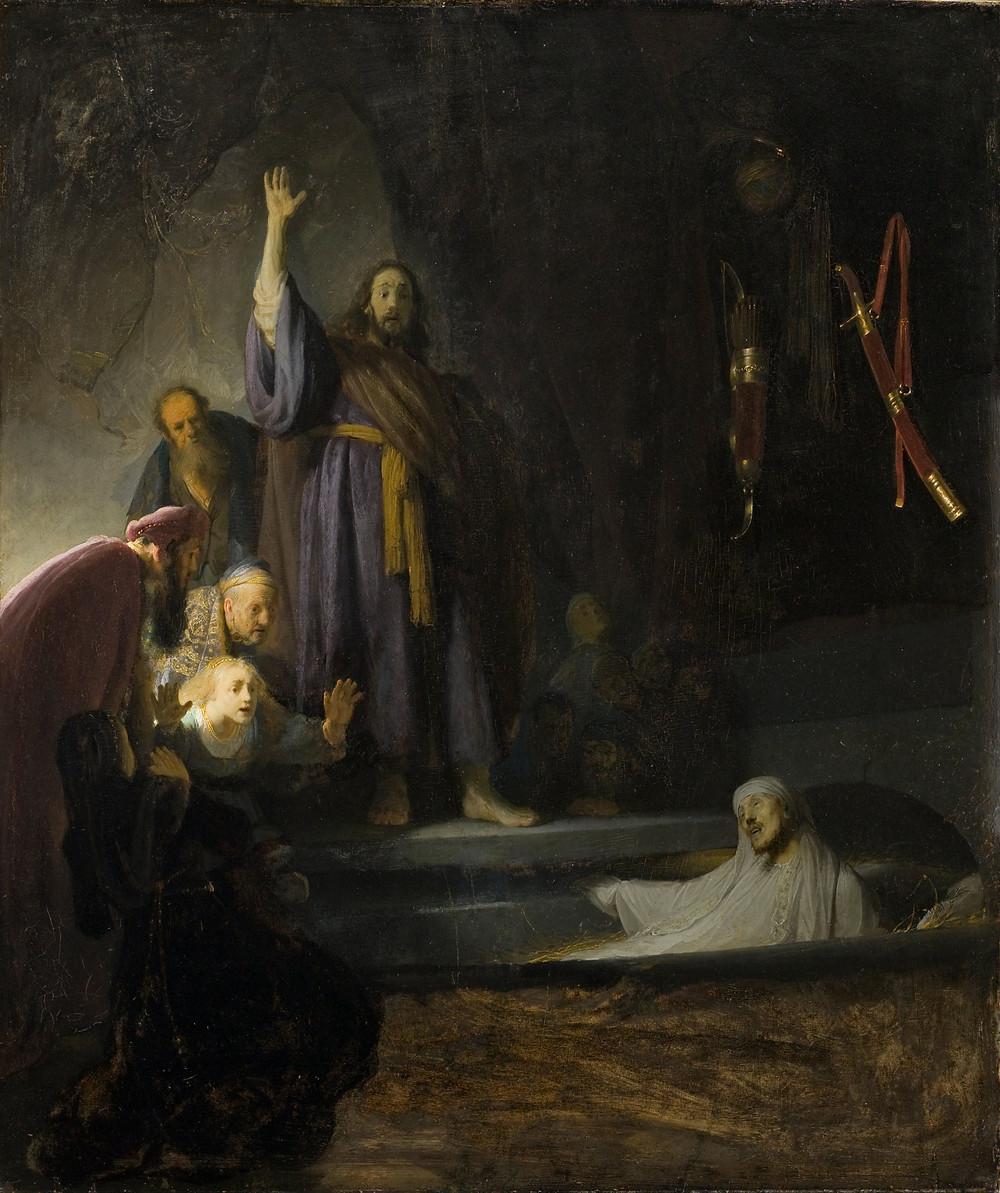 The Raising of Lazarus. Gibraltar Catholic Youth.