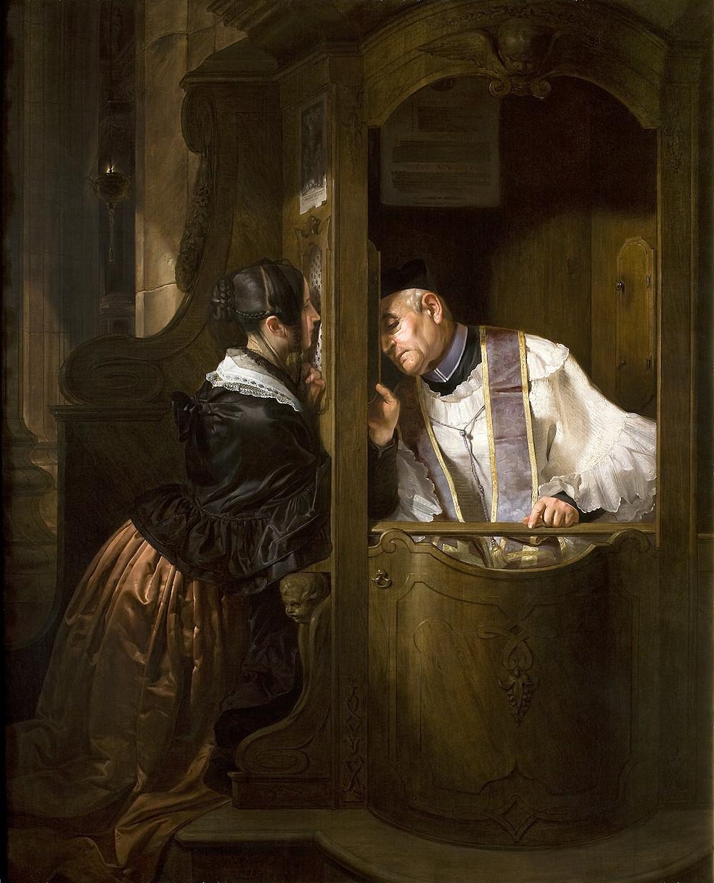Confession. Gibraltar Catholic Youth.