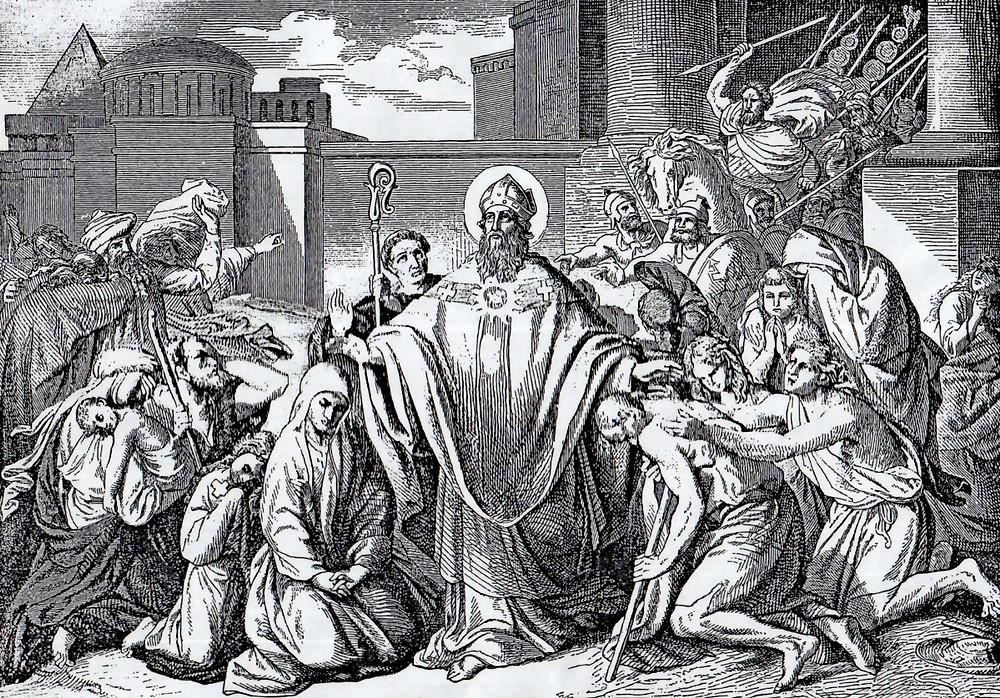 St Athanasius of Alexandria. Gibraltar Catholic Youth.
