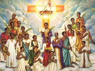 3rd June: Saints Charles Lwanga and Companions, Martyrs
