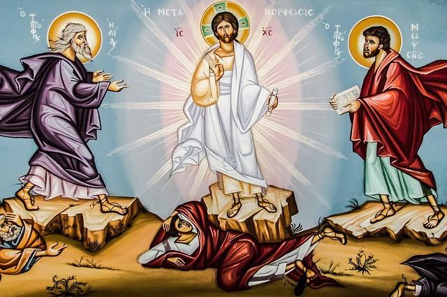 The Transfiguration. Gibraltar Catholic Youth.