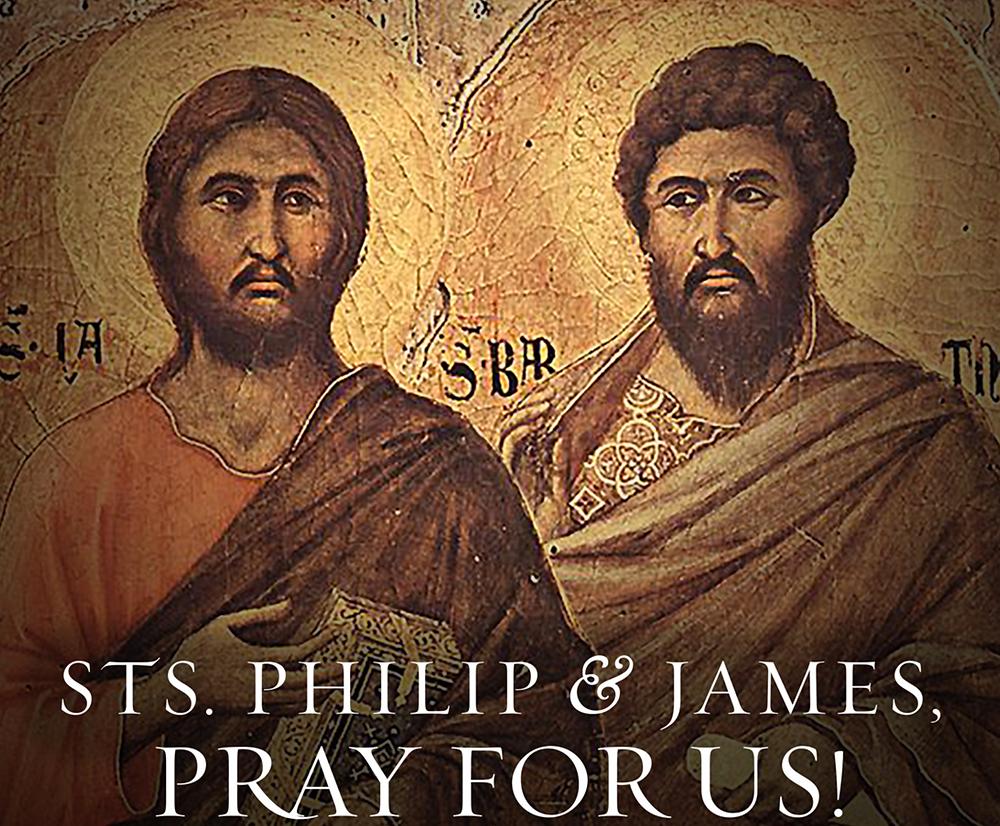 Saint Philip and Saint James. Gibraltar Catholic Youth.