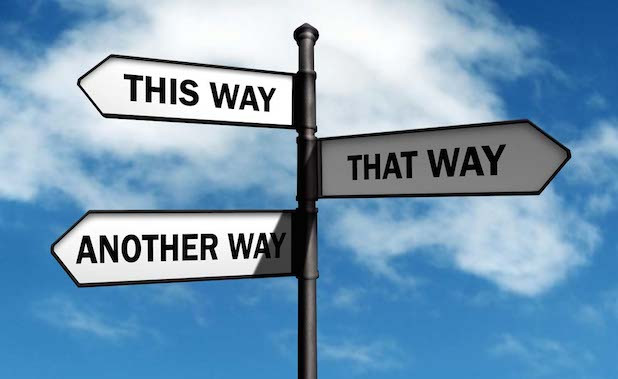 This way, that way, another way. Discernment and Novitiate. Gibraltar Catholic Youth.