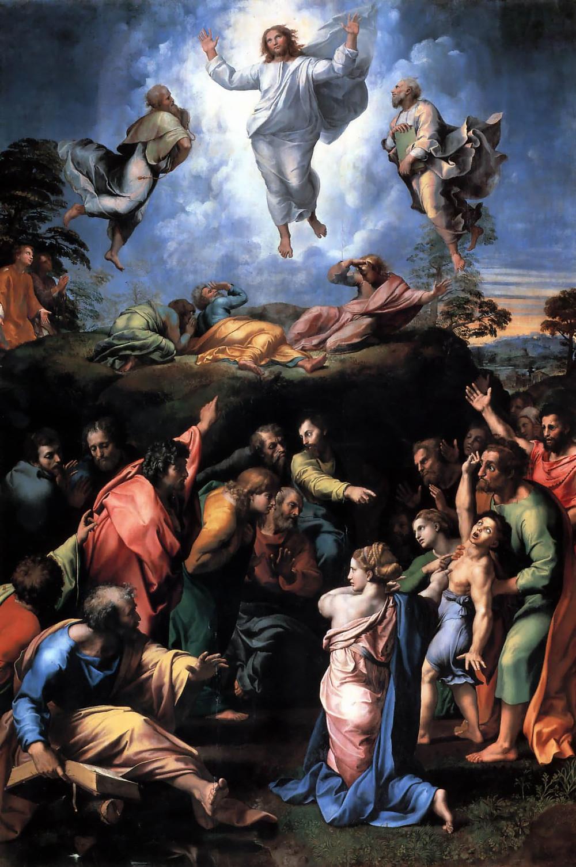 Transfiguration Raphael. Gibraltar Catholic Youth.