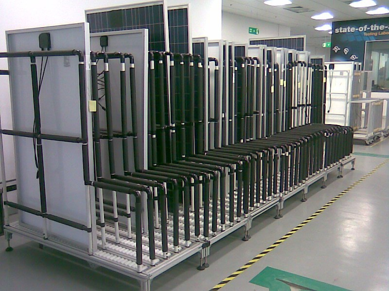 PV Panel Storage Rack