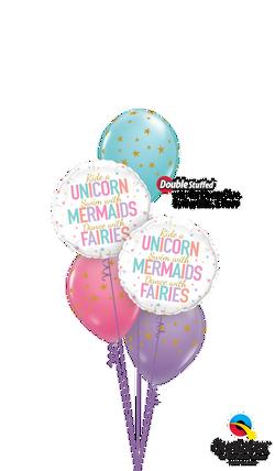 Unicorn, Mermaids and Fairies