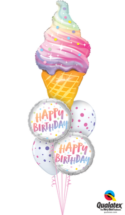 Ice cream cone bouquet