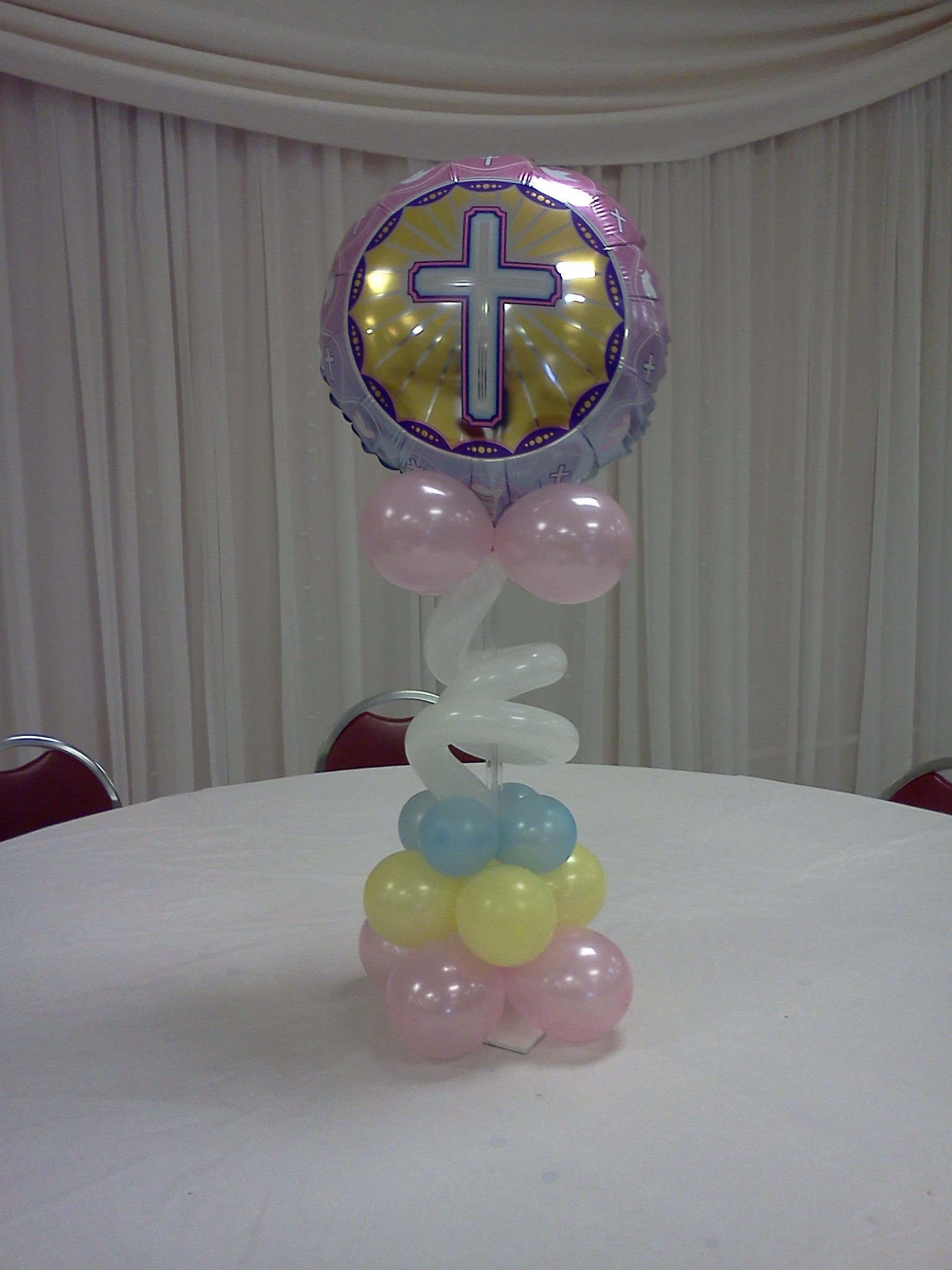 Tall Cross Centerpiece