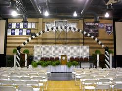 Graduation arch