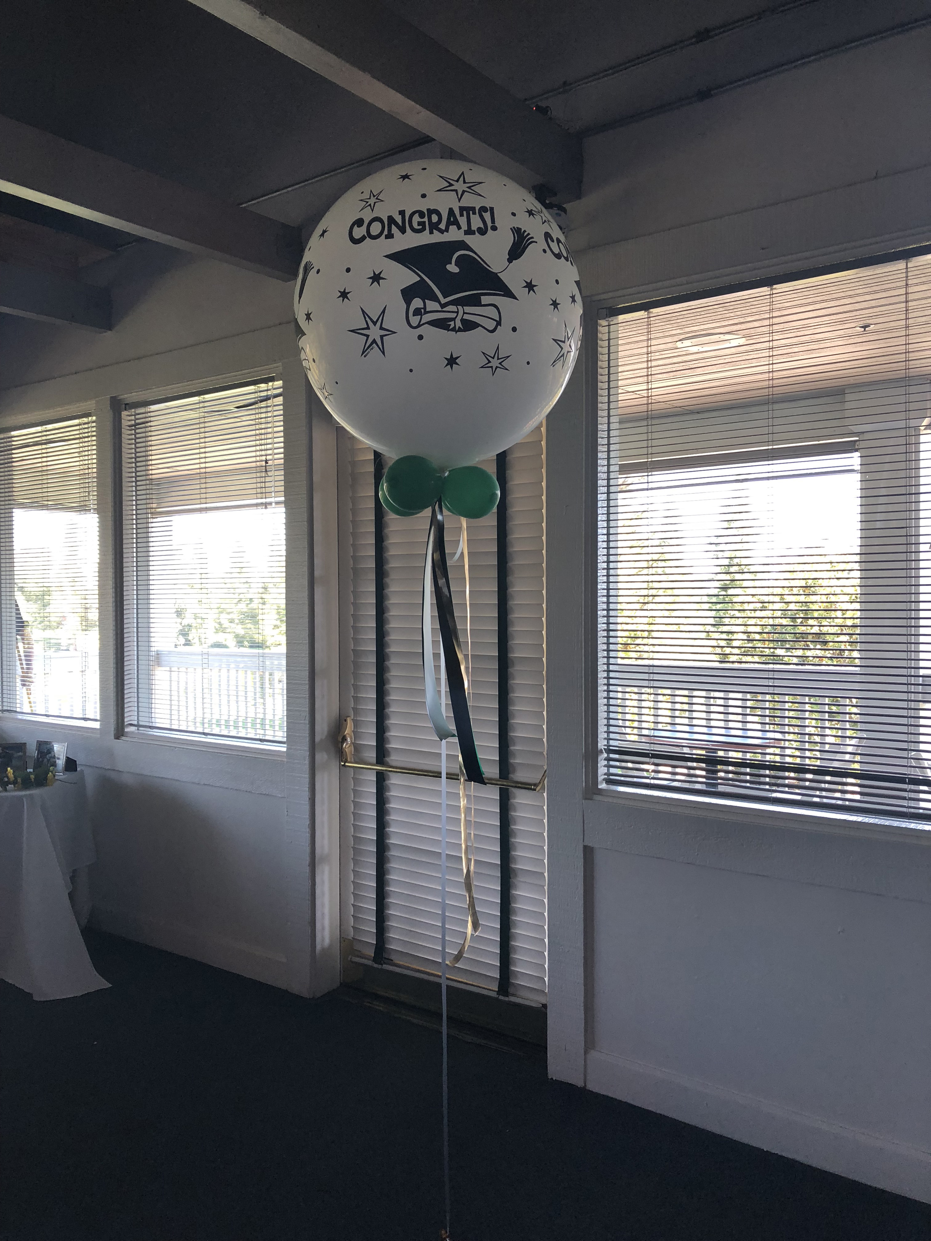 grad large balloon